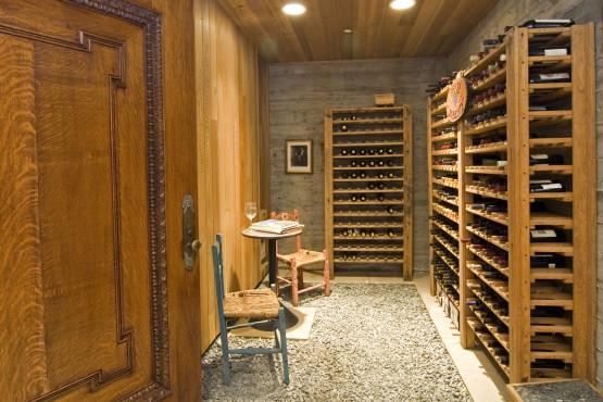 4375 Pine Flat Road-Wine cellar