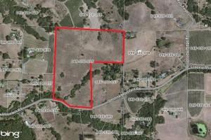 38 Acre Parcel Aerial Map