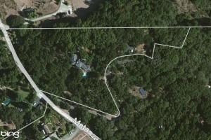 Aerial Map – 3480 Matanzas Creek Lane