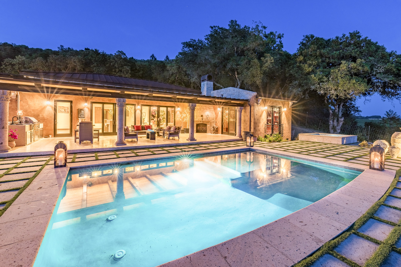 Doug swanson estates ranches vineyards properties sold for Creek house