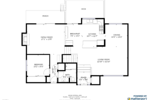 Downstairs Floorplan 4670 Fairway