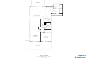 Upstairs Floorplan 4670 Fairway