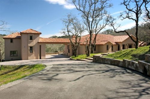 Luxury Sonoma Mediterranean Estate For Sale